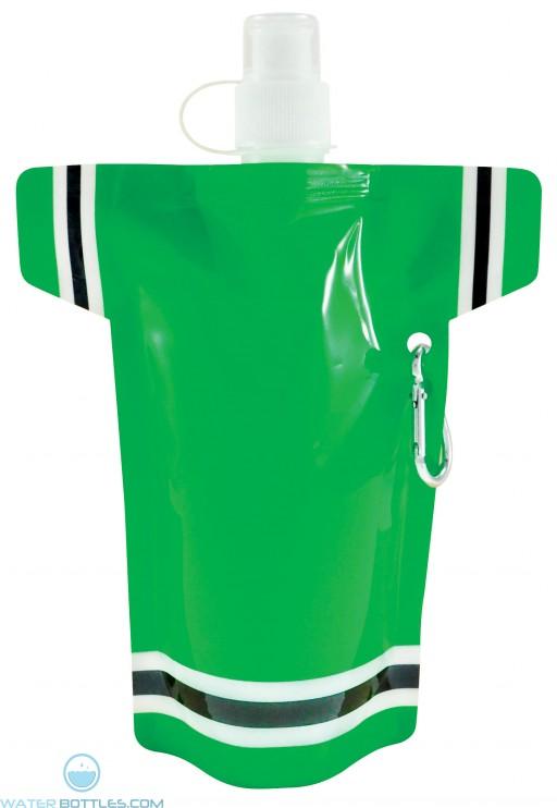 Super Fan Flat Bottles | 16 oz - Green