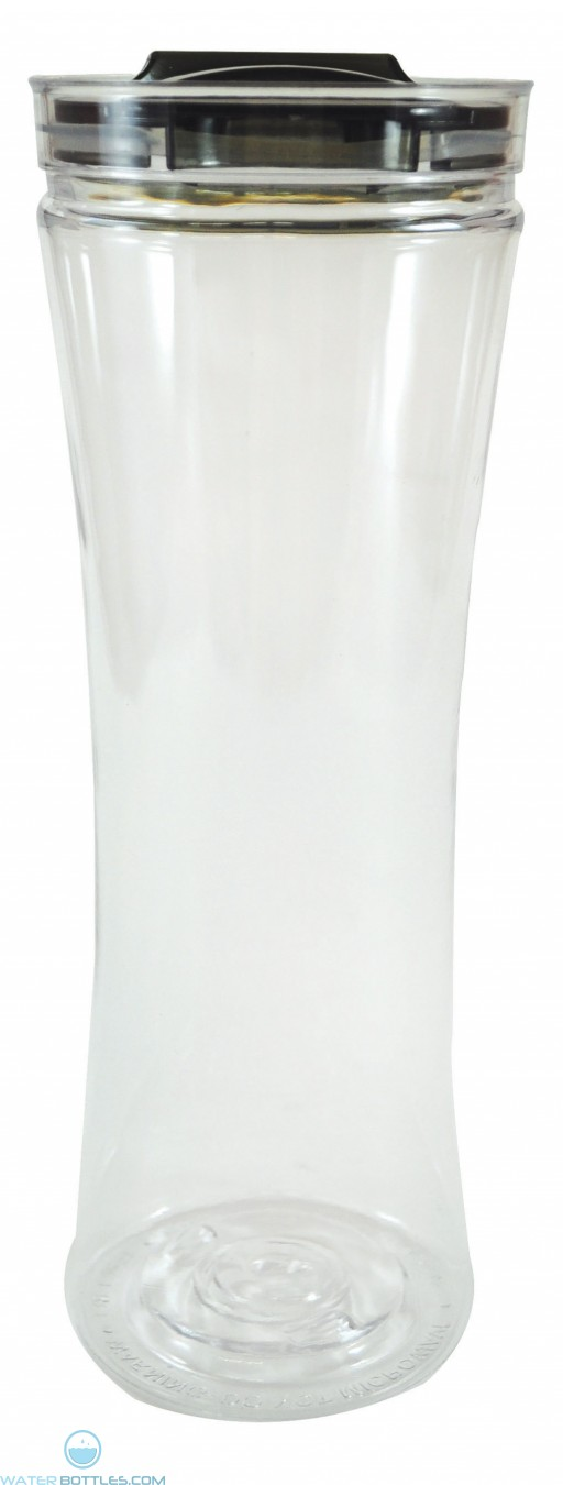 Swanky Sip Tumblers | 20 oz - Clear with Smoke Lid