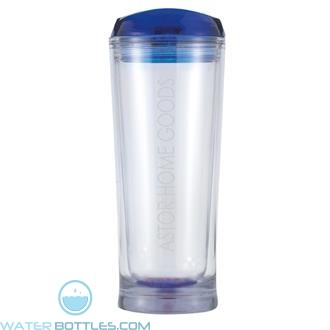 Denali | 20 oz - Clear with Blue Lid