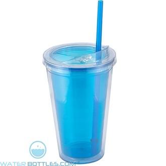Sip'n Straw | 16 oz - Blue