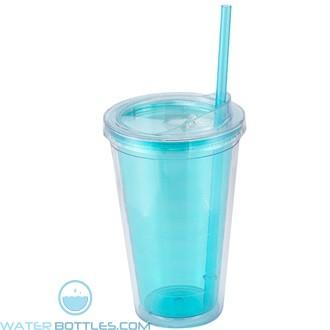 Sip'n Straw | 16 oz - Light Blue
