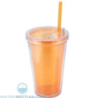 Sip'n Straw | 16 oz - Orange