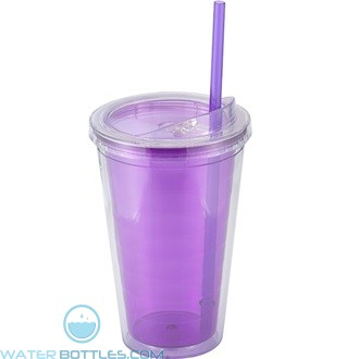 Sip'n Straw | 16 oz - Purple