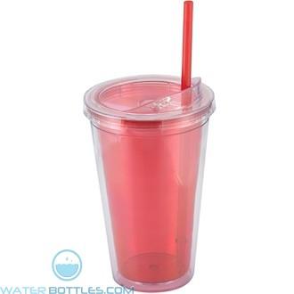 Sip'n Straw | 16 oz - Red