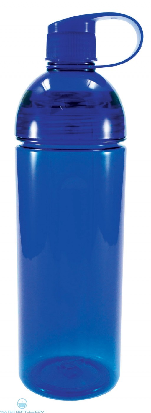 Twice Around Tritan Bottles   23 oz - Blue