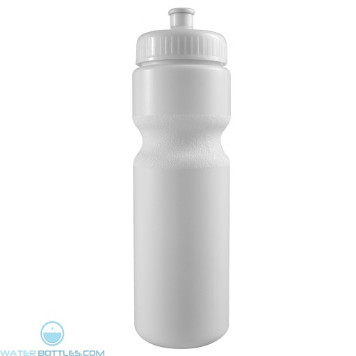 The Journey Bottles - 28 oz. Bike Bottles-White