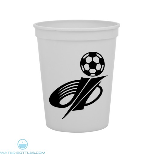 Cups-On-The-Go -16 oz. Stadium Cup-White