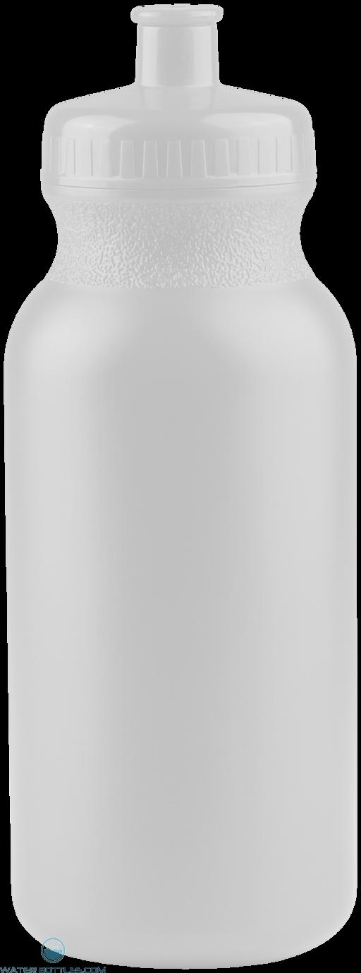 The Omni - 20 oz. Bike Bottles-White