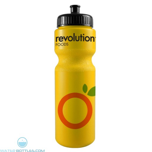 The Journey Bottles - 28 oz. Bike Bottles Colors-Yellow