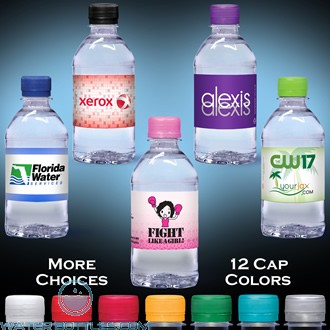 Custom Labeled Water | 12 fl oz.