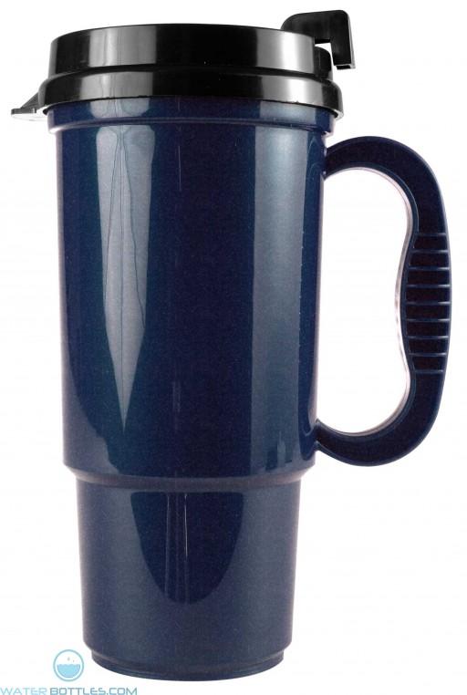 Metallic Blue The Commuter - 16 oz. Auto Mugs-Metallic Colors