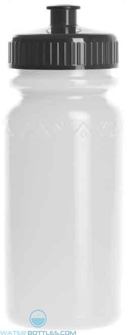 American Value 20 oz. Water Bottle-White