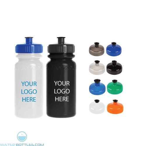 Personalized Sports Water Bottles - Custom 20 oz Promo Sports Bottles