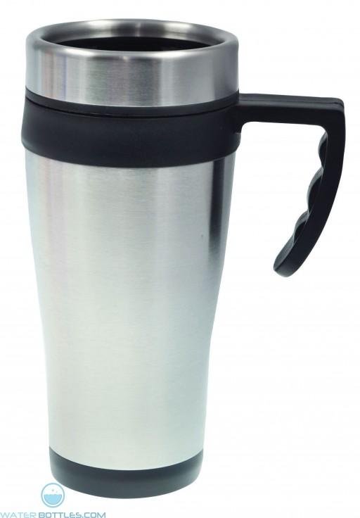 Coronado Mugs | 16 oz - Silver with Black Liner