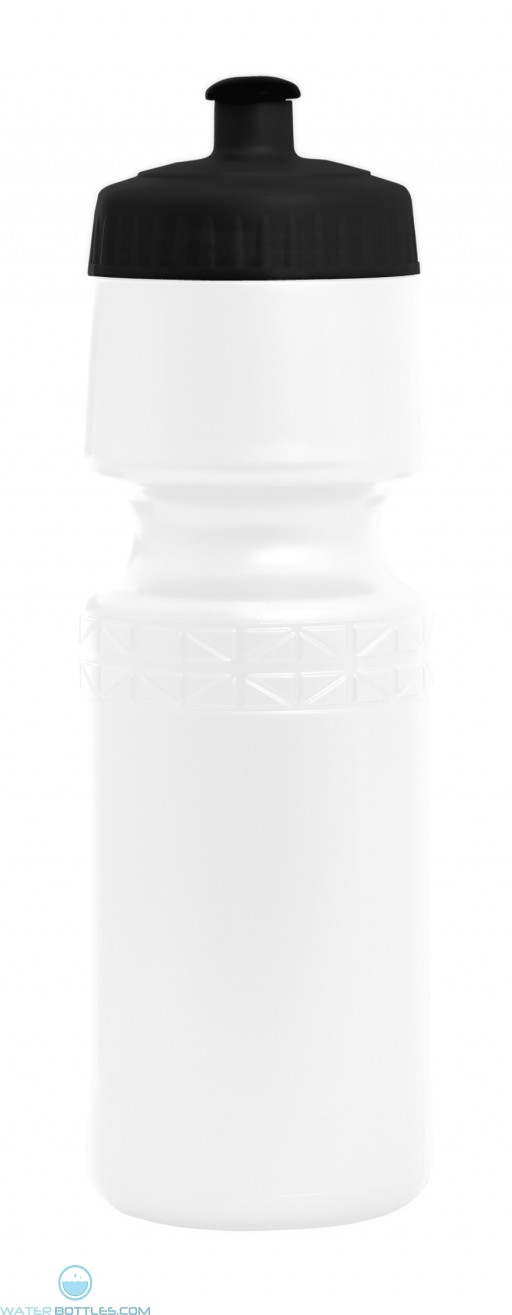 Classic Twister 26 oz. Water Bottle-White
