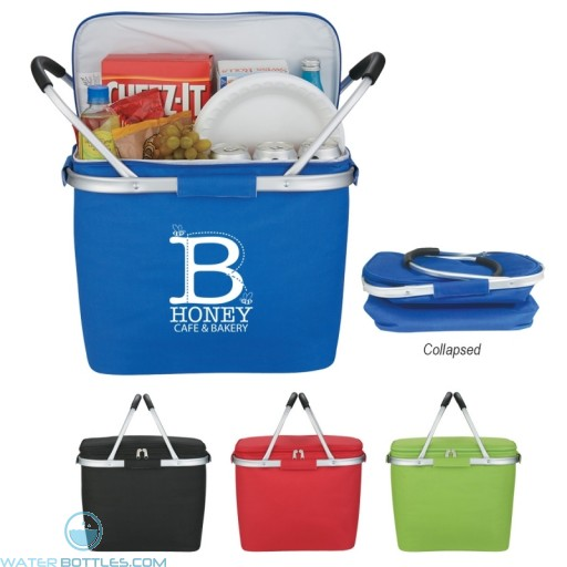 Custom Picnic Fun Collapsible Kooler Basket