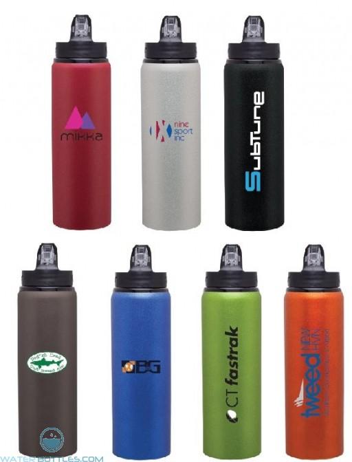 H2Go Allure Aluminum Customized Water Bottles | 28 oz