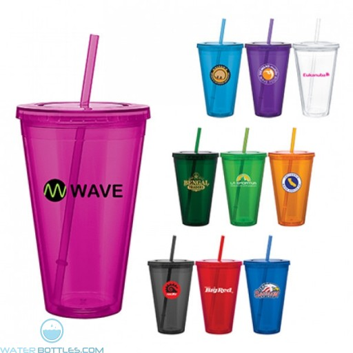 Custom Spirit Tumblers - Double Wall Acrylic Spirit Tumbler | 24 oz