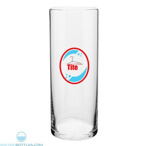 """Barber Pole Glass Vase   9"""""""