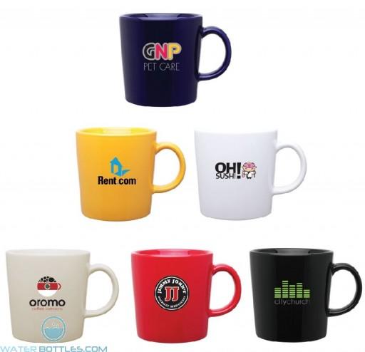 Ceramic Enzo Promo Coffee Mug | 14 oz