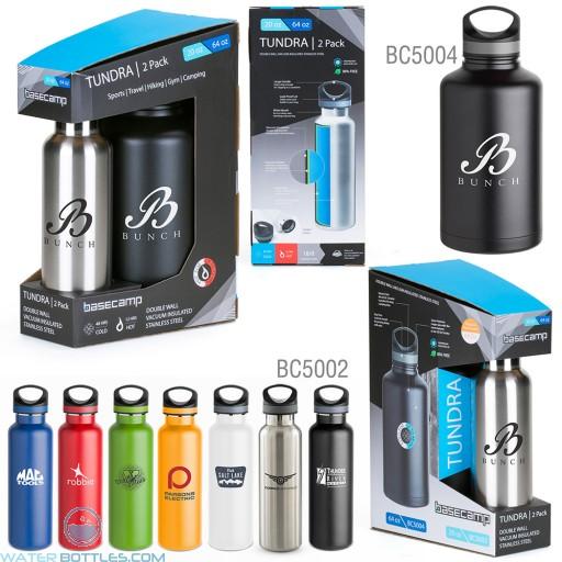 Wholesale Water Bottles - 20oz./64oz. Tundra 2-Pack Water Bottles