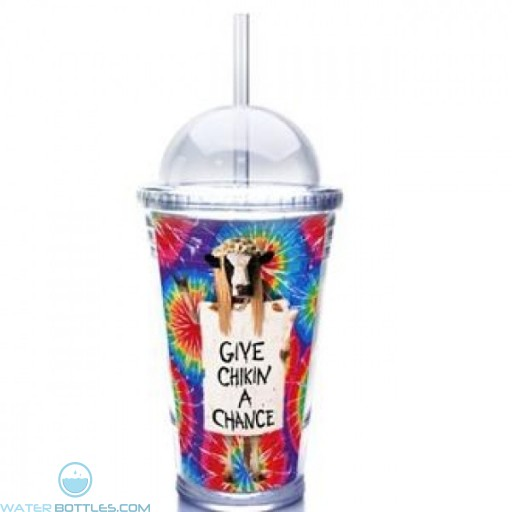 Slurpy With Dome Lid And Paper Insert | 16 oz