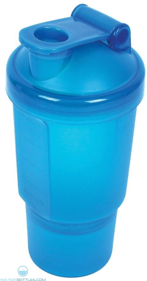 Blue The Double Shaker Cup   19 oz