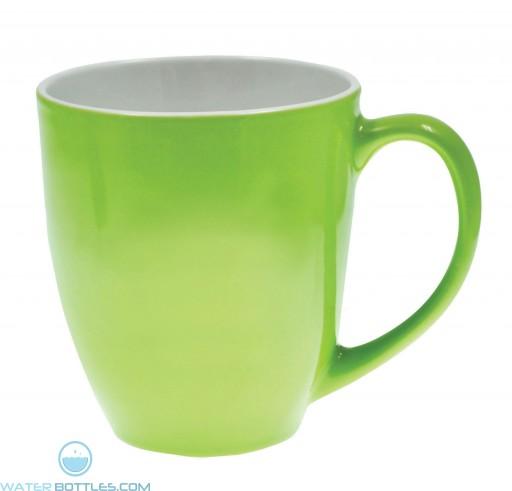 Jamocha Mugs | 16 oz - Lime Green