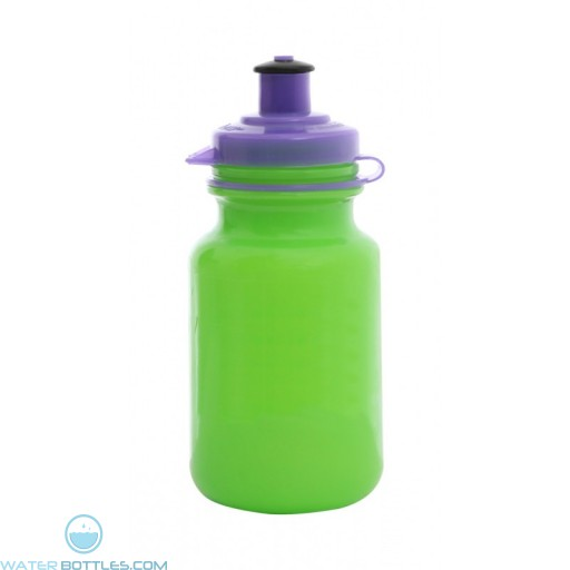 Mini 9 oz. Water Bottles-Green
