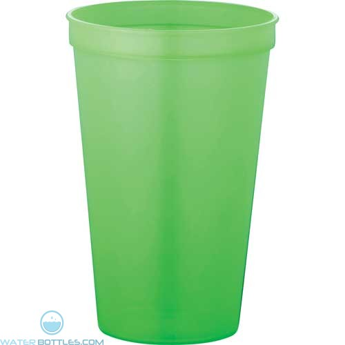 Rally Stadium Cup | 22 oz - Neon Green