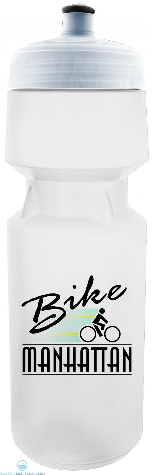 Pro X View 26 oz Water Bottles-White