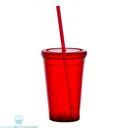 The Lucerne Insulated Mugs-Red