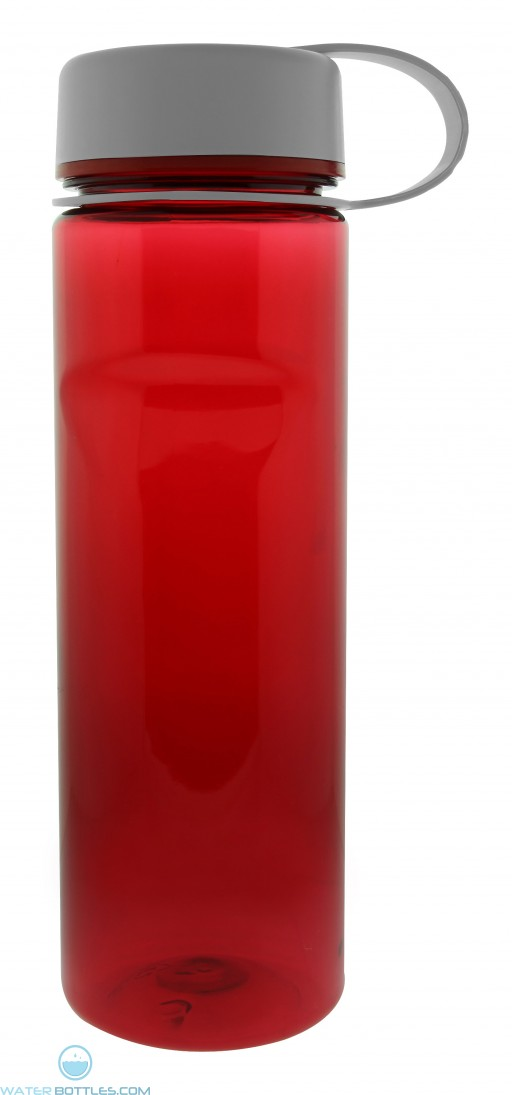 The Palm View Tritan Water Bottles-Red