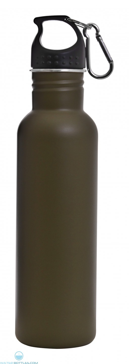 The Radiant San Carlos Water Bottles-Matte Green