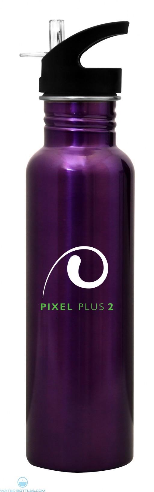 The Radiant Dunes Water Bottles-Purple