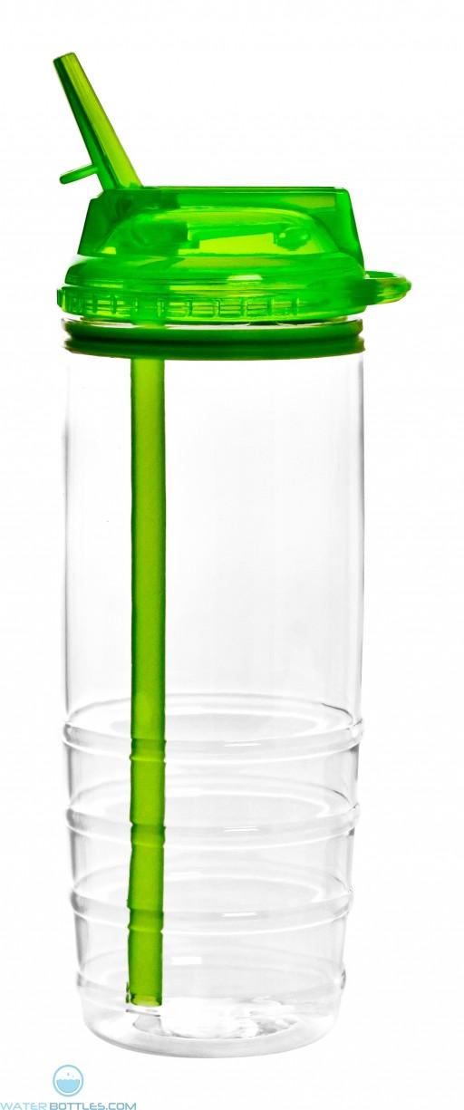 The Alston Tritan Water Bottles-Green