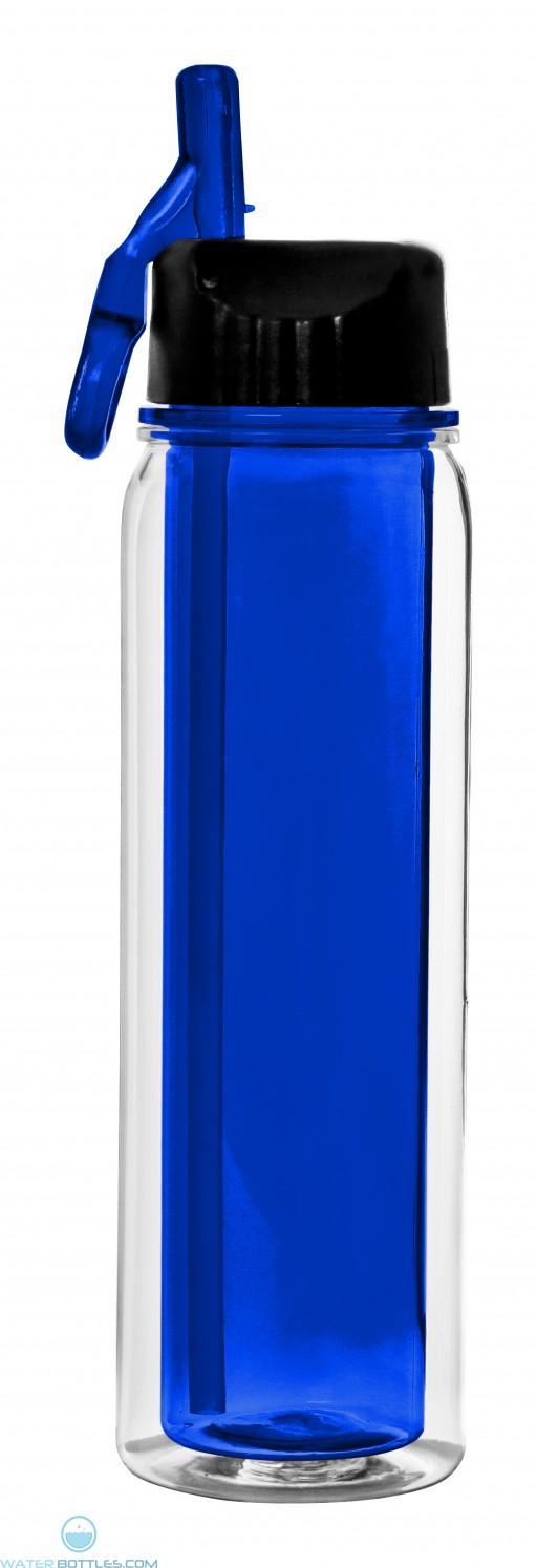 The Darien Insulated Tritan Water Bottles-Blue