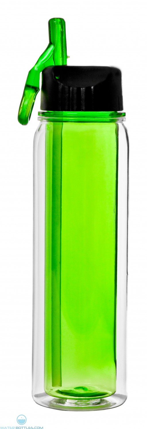 The Darien Insulated Tritan Water Bottles-Green