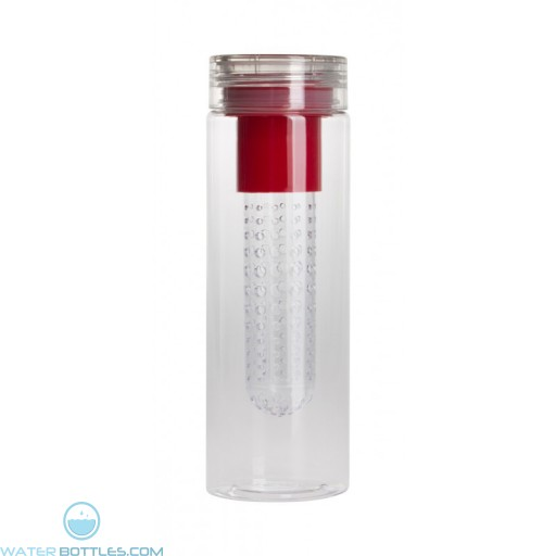 The Maui Infuser Tritan 24 OZ. Water Bottles-Red