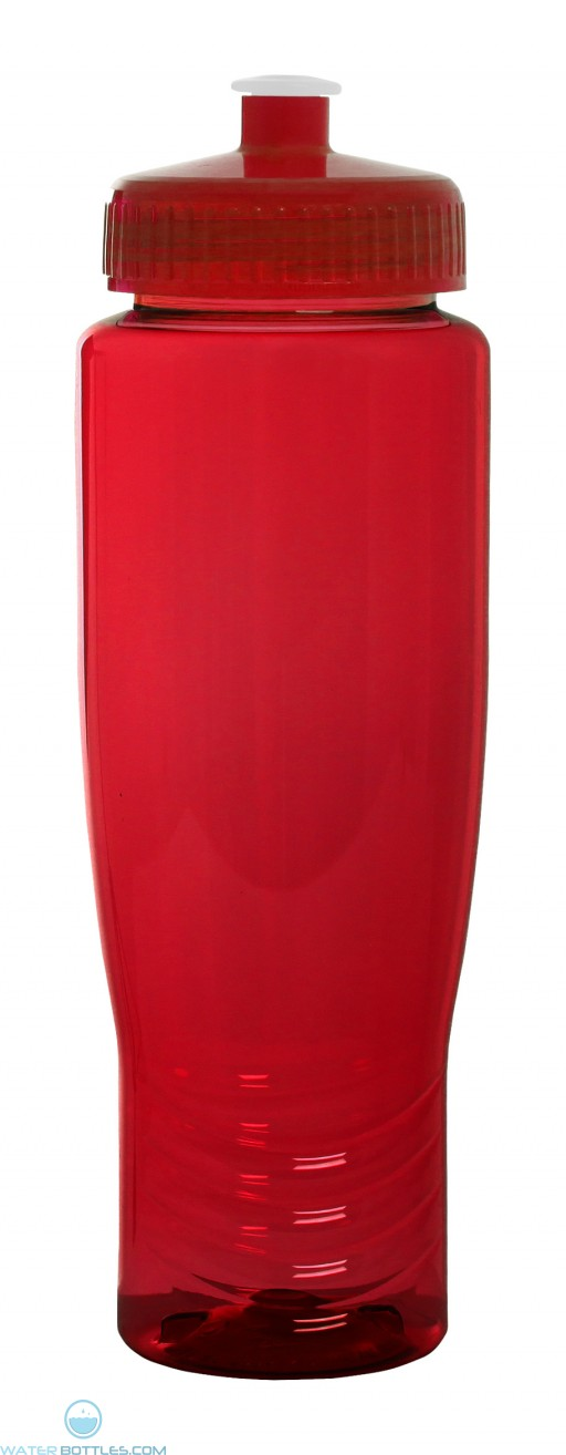 The Translucent Antora Water Bottles-Red