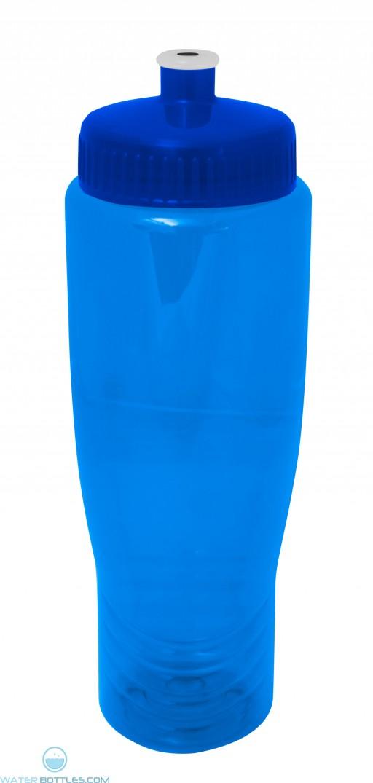 The Translucent Antora Water Bottles-Blue