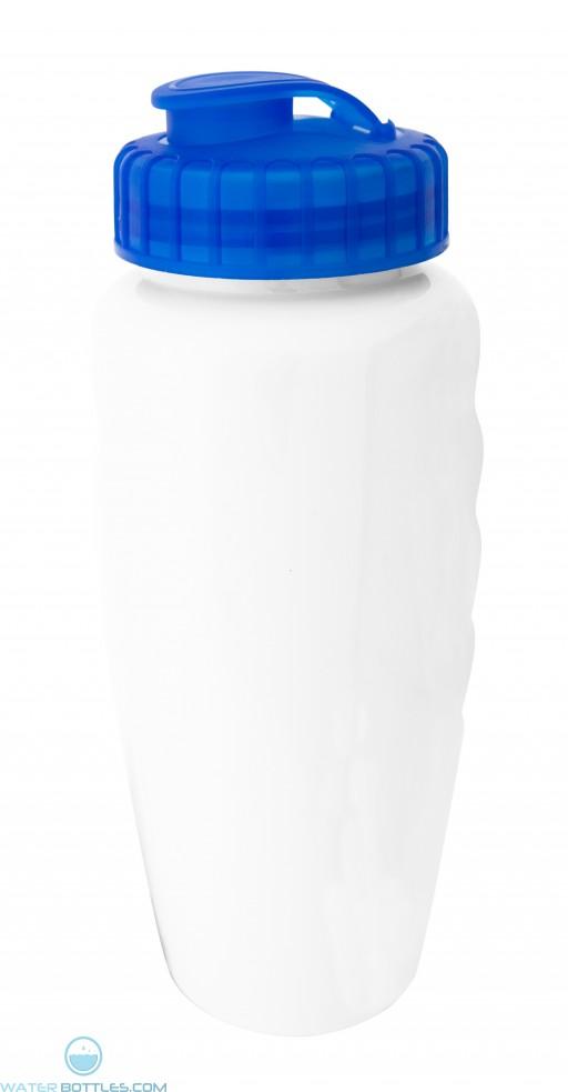 The Glossy White Alverstone Water Bottles-White