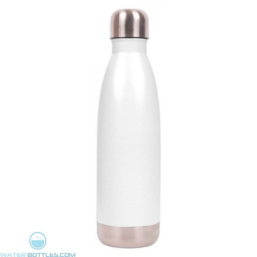 White 16 oz Vacuum Insulated Water Bottles