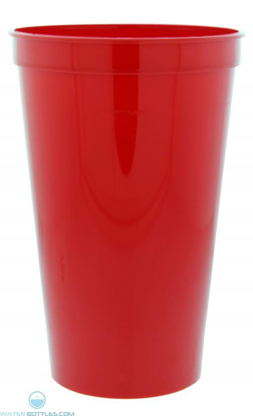 22 oz. Stadium Cups-Red