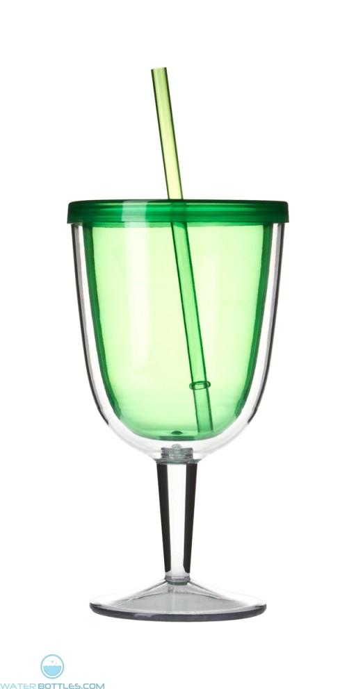 Delray Wine Cup | 12 oz - Green