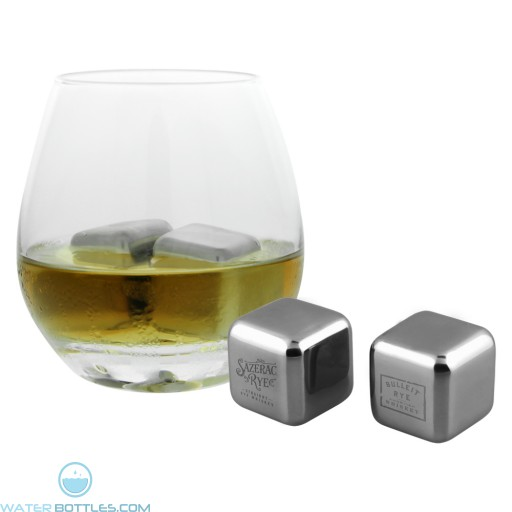 "Stainless Steel Ice Cubes | 1"" sqr"