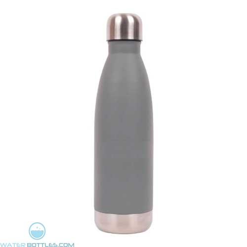 16 oz Vacuum Insulated Water Bottles-Gray