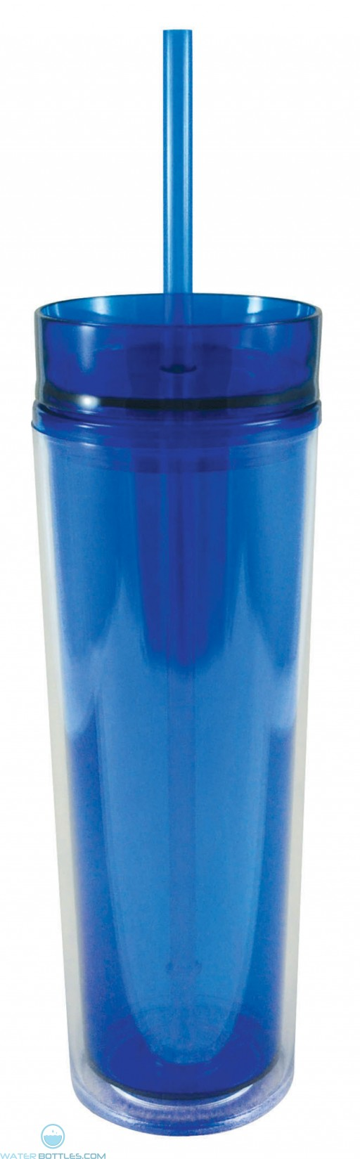 Slender Sip Tumblers   16 oz - Blue