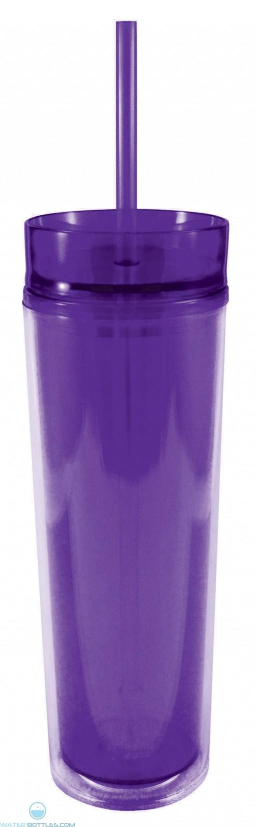 Slender Sip Tumblers | 16 oz - Purple