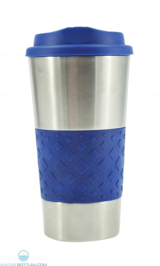Grip N Go Stainless Tumblers | 16 oz - Royal Blue